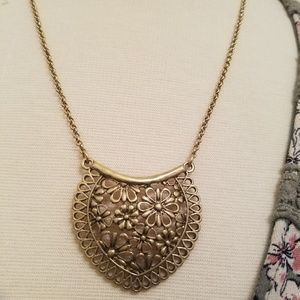 Lucky brand floral necklace